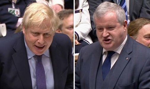 Commons erupts in laughter as SNP's Ian Blackford shamed over 'vain' independence plan