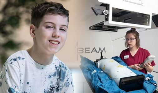 Teenage boy with rare brain cancer among first in UK to receive proton beam therapy