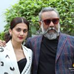 In Pictures: Tapsee Pannu & Anubhav Sinha photoshoot to promote 'Thappad'