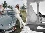 India Hicks, 54, heads off on her luxurious Greek honeymoon in style