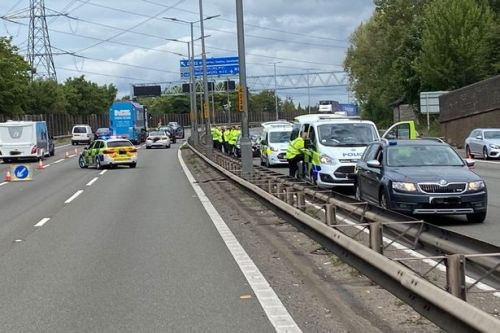 Teenage boy seriously injured after being hit by several cars on the M5