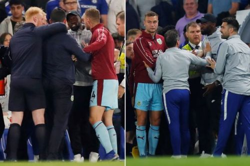 Gianfranco Zola reveals what sparked mass brawl after Chelsea's draw with Burnley
