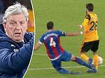 Crystal Palace manager Roy Hodgson furious with late Luka Milivojevic red card at Wolves