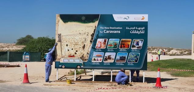 Caravans Can Soon Stay For Free For 30 Days At This Dubai Beach