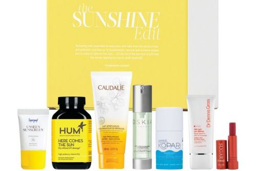 Cult Beauty launch sun-care beauty box worth £135 but costs just £40