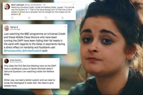 Viewers slam 'morons' behind Universal Credit 'debt spiral' on BBC documentary