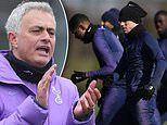 Jose Mourinho to take Tottenham training via VIDEO from next week as he looks to keep players fit