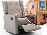 Aldi Australia recliner chair recalled over safety fears