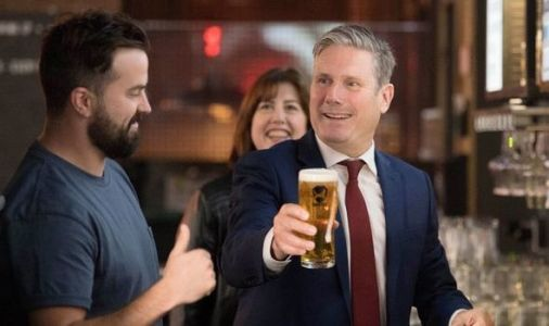 Keir Starmer sparks outrage as he's accused of breaking social distancing rules in pub