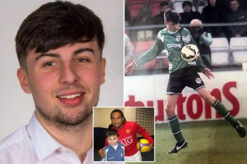 Footballer, 19, text mum saying 'see you on the other side' before taking life