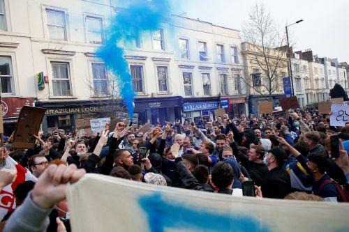Chelsea fan protests 'helped push the Super League plans back indefinitely'