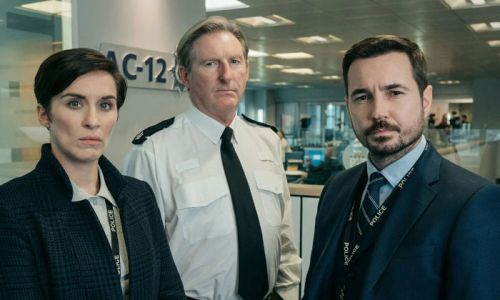 Line of Duty's Martin Compston and Vicky McClure celebrate for a very special reason