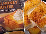 Foodie discovers 'seriously delicious' Korean thick honey butter toast