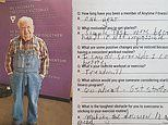 Alabama man who joined the gym at age 90 works out three days a week in his denim overalls