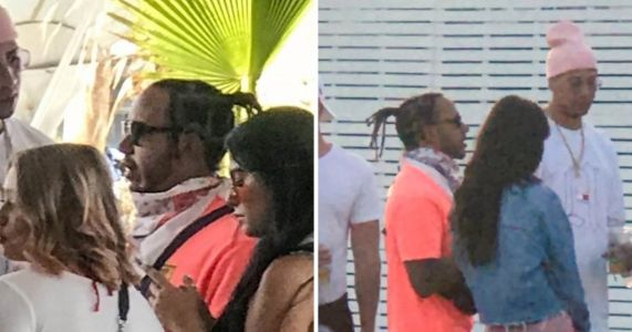 Lewis Hamilton parties with group of women at Coachella 2019 as he lets loose for the weekend