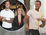 PICTURED: The moment grinning Dan Osborne entered 'threesome hotel' with Chloe Ayling