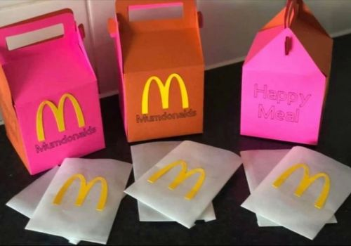 Woman creates 'Mumdonalds' Happy Meal boxes to cheer up her kids after McDonald's coronavirus closure