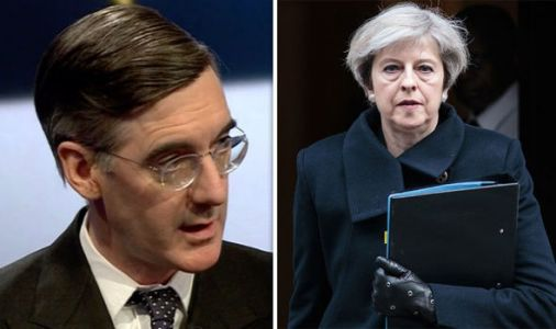 Jacob Rees-Mogg could CHALLENGE Theresa May's leadership over 'INCOMPETENT' Brexit deal