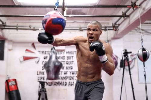 Chris Eubank Jr reacts to sparring partner's James DeGale defeat prediction