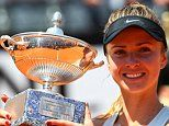 Elina Svitolina cruises past injured Simona Halep to win the Italian Open