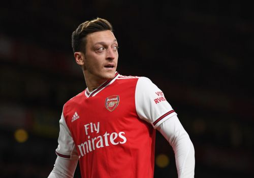 'He shouldn't be in the team!' Arsenal legend Liam Brady absolutely destroys Mesut Ozil