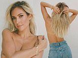 Kristin Cavallari poses topless. after her ex Jay Cutler is pictured with Jana Kramer