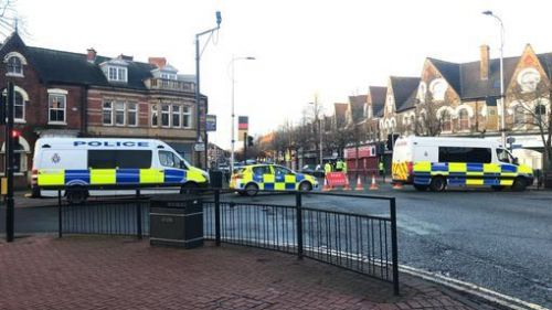 Man fighting for life after police shoot him in street following reports he had a gun