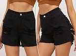 Shoppers mock bizarre denim shorts with VERY racy rips from Shein