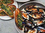 Gordon's fast food: Moules marinere with wild garlic toasts