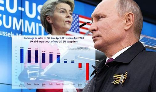 So much for friends in Europe! EU imports more from Putin's Russia than UK - damning graph