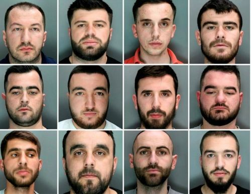 Albanian drug gang who provided City workers with cocaine jailed for 33 years