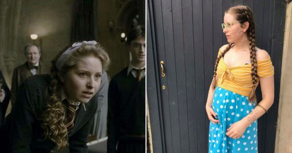 Harry Potter star Jessie Cave welcomes baby son after 'extreme' labour