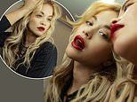 Rita Ora nails vampy chic as she poses up a storm for edgy mirror photoshoot