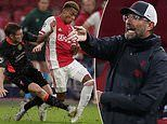Jurgen Klopp left less than impressed by the state of Ajax's pitch as Liverpool grind out win