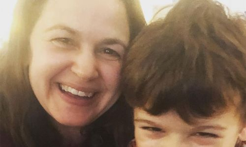 Giovanna Fletcher's son's reaction to her winning I'm a Celebrity will melt your heart