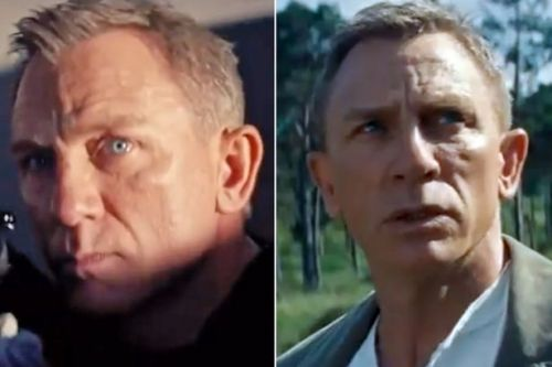 Daniel Craig is the first ever James Bond to have grey hair in new 007 film