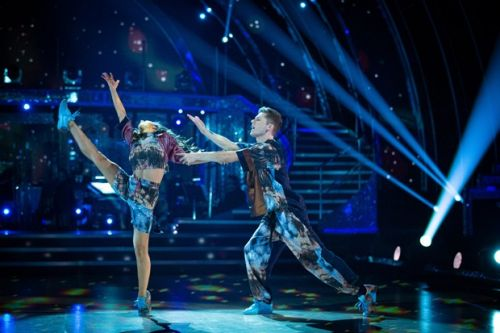 HRVY makes Strictly Come Dancing history as he receives perfect score from judges in Week Six