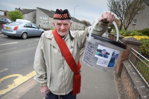 OAP charity walk hero abused and ignored while raising money for care workers