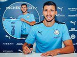 Manchester City announce £64m signing of Ruben Dias from Benfica on a six-year contract