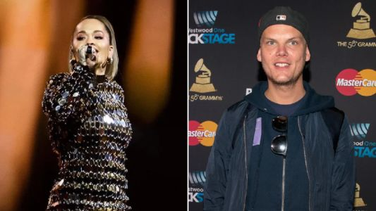 Rita Ora pays touching tribute to late friend Avicii as she performs their collab at mental health awareness concert
