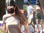 Kendall Jenner looks casual as she grabs coffee with her NBA beau Devin Booker