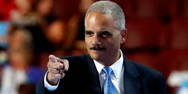 Obama's attorney general Eric Holder calls William Barr 'unfit' to hold office in Washington Post op-ed