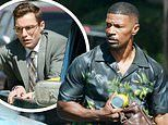 PICTURED: Jamie Foxx and Dave Franco spotted for the first time on set of vampire comedy Day Shift