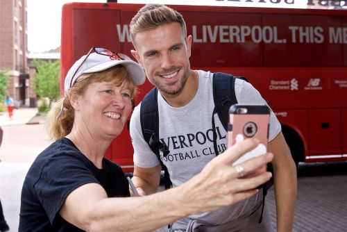 The best photos as Liverpool arrive in South Bend for first leg of US tour