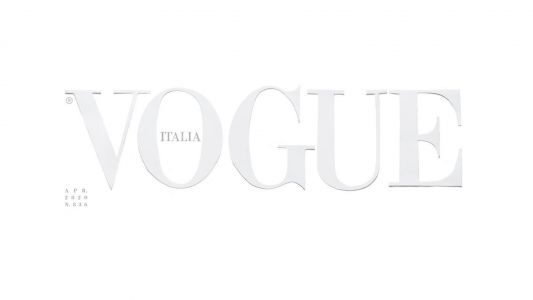 Vogue Italia reveals its first ever blank cover