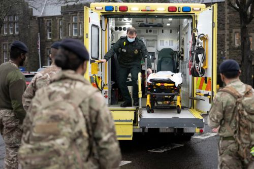 Military medics drafted in to help Midlands hospital amid staff shortages