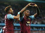 Aston Villa 2-0 Everton, RESULT: Newly-promoted hosts seal first win of the season