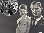 Snap of Queen with King George VI, Prince Philip and Prince Charles leads Father's Day tributes