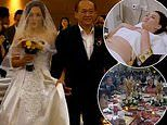 Couple splashes on two dresses to fit her £100,000 engagement ring