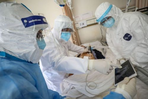 Wuhan's first virus patients still have debilitating lung damage three months on